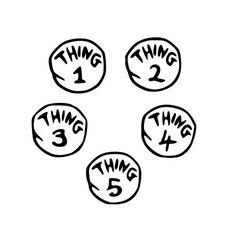 thing 1-5 svg file