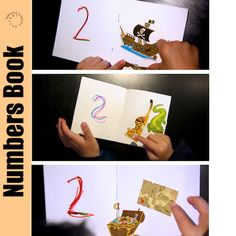 {Early Maths} Using small simple blank booklets, focus on one number per book. Simple and engaging activity. How would you vary this activity for your learner?