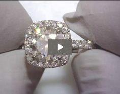 Park Avenue Halo Engagement Ring | WinkCZ