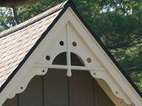 Gable Trim Metal Menards Fabral Installation Home Depot Manufactured Home Decorating, Decorative Wood Trim, Gable Roof Design, Gable Trim, Gable Decorations, Gable Vents, Roof Styles, Exterior Trim, Gabel