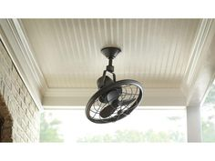 HGTV presents a photo gallery with ideas for ceiling fans on porches and pergolas.