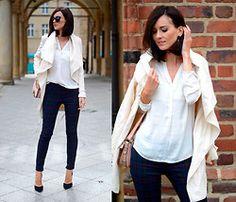 Zara Pants, Zara Heels, Aldo Bag, Mohito Coat - Checked trousers - Daisyline .