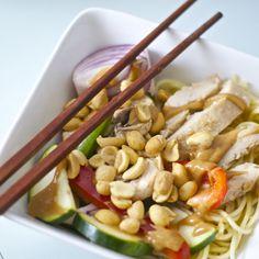 Peanut Chicken Stirfry #recipe via Smart Nutrition http://www.yummly.com/recipe/Peanut-Chicken-Stirfry-1018755