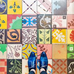 Gorgeous Instagram feed of stunning Parisian floors