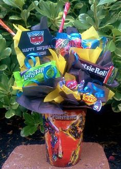 Transformers Kids Candy Party Favors Made to Order. $0.20, via Etsy.