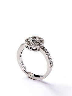 Princess Collection Diamond Disc Ring by Charriol on Gilt.com