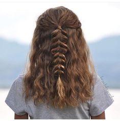 Catchy braided hairstyle ideas for the girls who are short-Eingängige umsponnene Frisur-Ideen für die Mädchen, die kurzes Haar haben – Frisuren, Catchy braided hairstyle ideas for the girls who have short hair – Hairstyles, # catchy # for - Medium Curly, Medium Hair Styles, Curly Hair Styles, Curly Hair Braids, Wavy Hair, Pretty Hairstyles, Braided Hairstyles, Hairstyle Ideas, Teenage Hairstyles