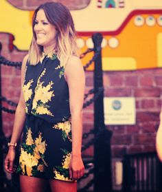 Caroline flack - Equipment playsuit