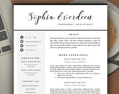 Modern Resume Layout Modern Resume Template Modern Resume Design For Word  12 Page .