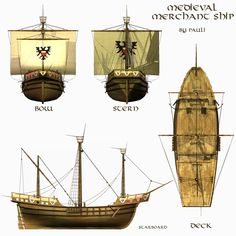 Hanseatic Cog / Carrack
