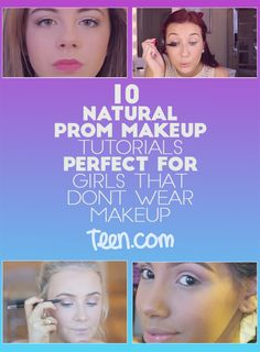 Soft Prom Makeup Looks Perfect for Girls who like to Look more Natural