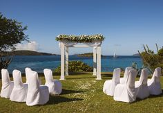 A beautiful backdrop for an island wedding. #startlemenow #startle #forbestravelguide