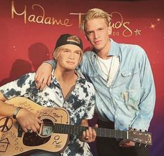 Cody Simpson squared?Does Cody Simpson have a twin? The person on the left isn't real, its a wax figure. Cody is featured in MadameTussauds in Orlando Florida where they took more than 300 measurements of his head and body to create a perfect wax figure! Hetook to Snapchat and Instagram to show off his double. Look out for more music to come from Cody! Instagram: @codysimpson Twitter: @CodySimpson Photo: Cody Simpson/Instagram