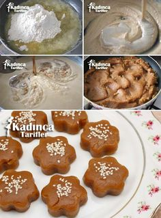 Tahin Pekmezli Flour Halva Recipe How To Tatlı Tarifleri backen Halva Recipe, Food Film, Turkish Sweets, Easy Bread, Turkish Recipes, Mini Desserts, Easy Cooking, Gourmet Recipes, Food Print