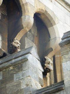 Gargoyles at Windsor Castle   Flickr - Photo Sharing!