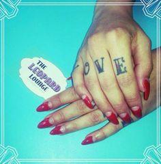 THE LEOPARD LOUNGE, VINTAGE NAIL AND BEAUTY PARLOR ROTTERDAM #vintage #beautyproducts #nails #nailart #nailstudio #nailsalon #salon #studio #rockabilly #50's #60's #fifties #sixties #blue #shop #tattoos #designhttp://www.theleopardlounge.nl