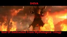 Dancing Lord Shiva - God Of Destruction. (From Indian movie)
