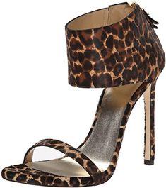 New Stuart Weitzman Women's Showgirl Dress Sandal leopard print sandals. ($489.97) findtopgoods offers on top store