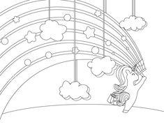 Coloriage Pour Adulte Unicorn Coloring Pages Animaux Fantastique