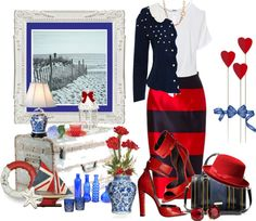 """Ocean Memories"" by skpg on Polyvore"