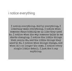 noticing