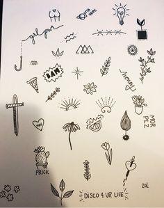 Super Tattoo Ideas Simple Stick and Poke Ideas - Super Tattoo Ideas Easy . - Super Tattoo Ideas Simple Stick and Poke Ideas – Super Tattoo Ideas Simple Stick and Poke - Stick Poke Tattoo, Tatuaje Stick N Poke, Hand Tattoos, Sharpie Tattoos, Finger Tattoos, Tattoo Flash Sheet, Tattoo Flash Art, Cute Tiny Tattoos, Small Tattoos