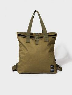Olive Drab Tall Tote Bag