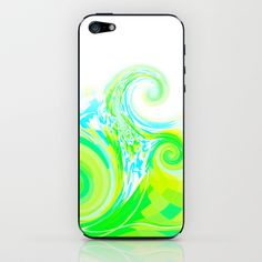 Re-Created  Tsunami THREE iPhone & iPod Skin by Robert S. Lee - $15.00