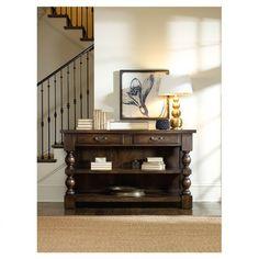 Bentham Console Table | hardwood, mahogany | Entry Way