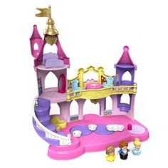 Christmas 2015~ Fisher-Price Little People Disney Princess Musical Dancing Palace
