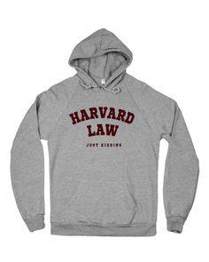 HARVARD LAW HOODIE at Shop Jeen - SHOP JEEN