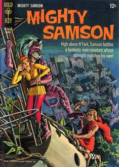 Mighty Samson (#5) - cover by George Wilson