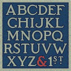 New from Harold's Fonts... Subway Mosaic (available from Font Bros).