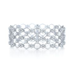 Diamond bracelet from the Jasmine Collection in 18K white gold $18,900