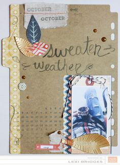 Layout: sweater weather