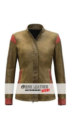Rey Star Wars Women Brown Leather Jacket - Best Deal  #BNH #BasicJacket