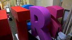 Картинки по запросу буквы из пенопласта