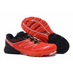 sports shoes 765a3 77501 Bedst Salomon S-lab Sense Mørkorange Sort Hvid Herre Skobutik   Købe  Salomon S-