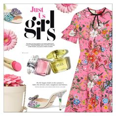 """Pretty Flowers"" by cilita-d ❤ liked on Polyvore featuring Gucci, Kate Spade, Dolce&Gabbana, H&M and L'Oréal Paris"