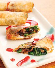 Experimente a receita do Harumaki, o rolinho primavera -  Kampai é uma palavra que significa brinde, uma espécie de saudação, em japonês. Foi com essa ideia - e com inspiração na clássica cozinha japonesa que o restaurante Kampai criou a sua decoração e o seu cardápio, bem tradicional. Este restaurante nos disponibilizou a receita do Harumaki, o famoso rolinho primavera, feito com o saboroso cogumelo shimeji.