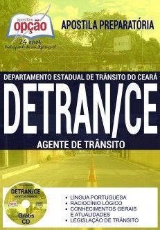 Apostila Concurso DETRAN CE Agente de Trânsito PDF Download Digital Baixar ou Impressa
