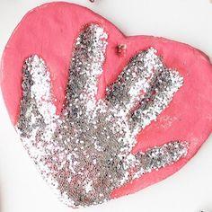 Salt Dough Handprint Ornament - The Easiest Way to Make Salt Dough!