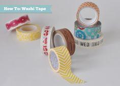 In-site-full: Jen's Jumpstart Tutorial Video: Washi Tape