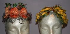 Bes-Ben Banana and Pineapple Hats - Couture and Accessories | Doyle Auction House
