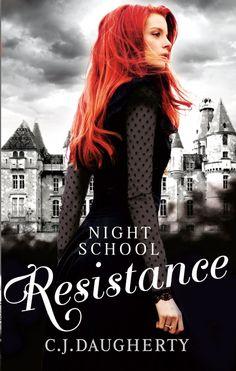 UK: Night School Resistance - C. J. Daugherty cover reveal