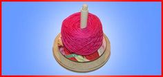 Yarn tamer - a lazy susan for yarn