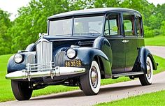 A grand 1941 Packard Super Eight limousine from the last days of coach-building....