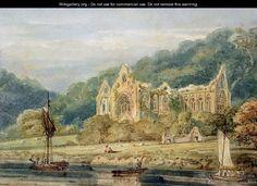 Thomas Girtin (1793) Tintern Abbey