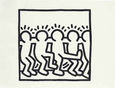 keith haring kids coloring book - Google Search