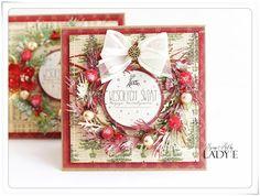 Scrap Art by Lady E: Christamas Wreaths / Wianki Świąrteczne